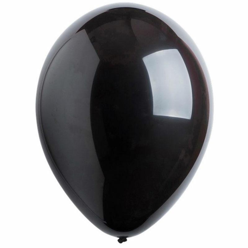 Воздушный шар черный