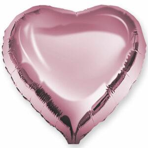 Фольгированный шар. Сердце Розовое