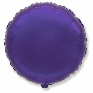Фольгированный шар. Круг Фиолетовый