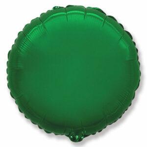 Фольгированный шар. Круг Зеленый