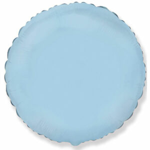 Фольгированный шар. Круг Голубой