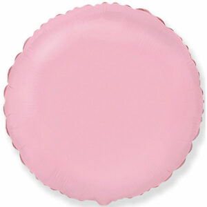 Фольгированный шар. Круг Розовый