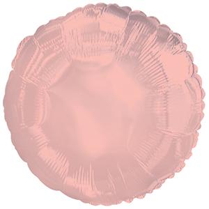 """Фольгированный шар. Круг """"Rose Gold"""""""