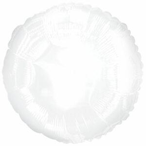 Фольгированный шар. Круг Белый