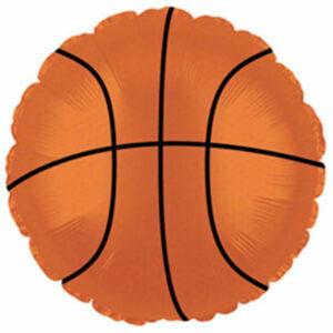 Фольгированный шар. Круг Баскетбольный мяч