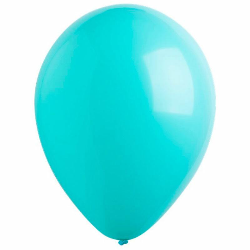 Воздушный шар робиновый голубой