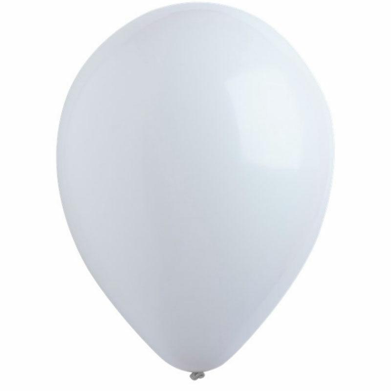 Воздушный шар белый