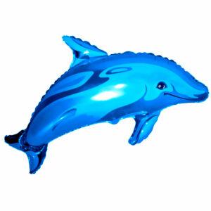 """Фольгированный шар. Фигура """"Дельфин"""""""