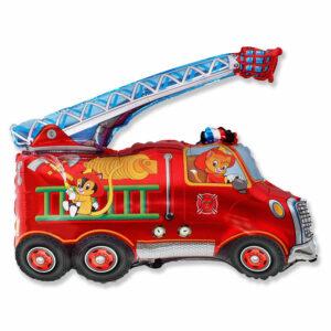 """Фольгированный шар. Фигура """"Пожарная машина"""""""