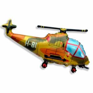 """Фольгированный шар. Фигура """"Вертолет"""""""