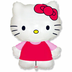 "Фольгированный шар. Фигура ""Hello Kitty"""