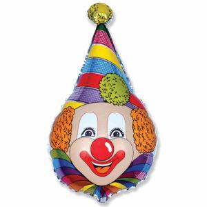 """Фольгированный шар. Фигура """"Клоун"""""""
