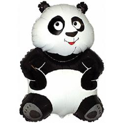 """Фольгированный шар. Фигура """"Панда"""""""