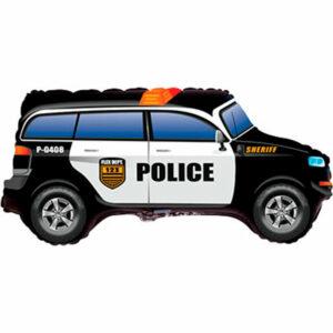 """Фольгированный шар. Фигура """"Полицейская машина"""""""