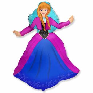 """Фольгированный шар. Фигура """"Принцесса Анна"""""""