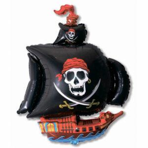 """Фольгированный шар. Фигура """"Пиратский корабль"""""""
