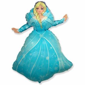 """Фольгированный шар. Фигура """"Принцесса Эльза"""""""
