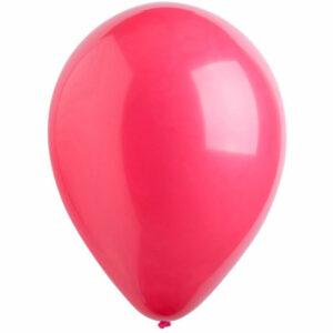 Латексный шар с гелием. Бургундия