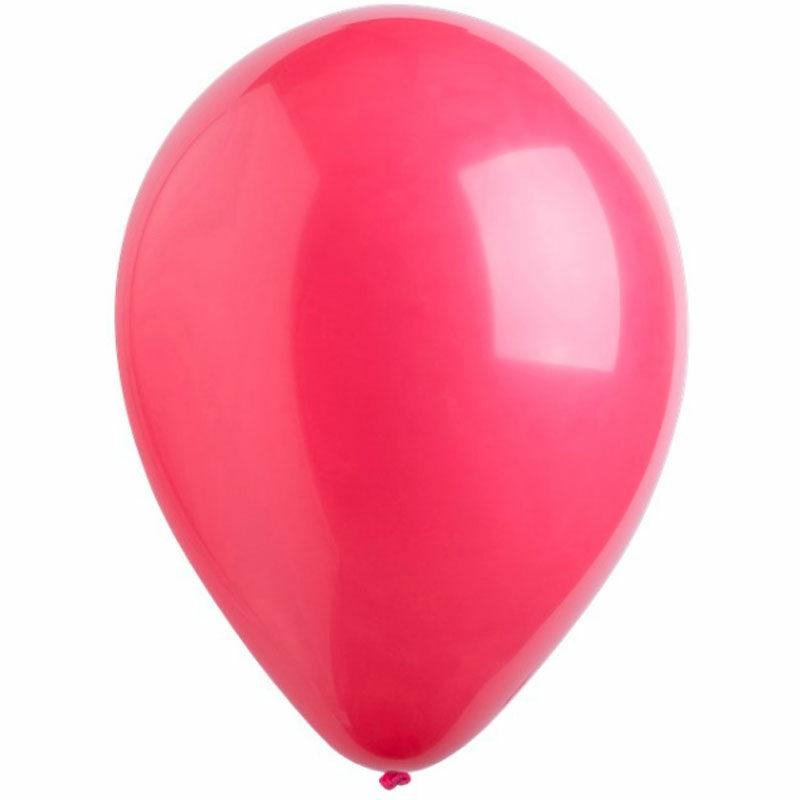 Воздушный шар бордовый