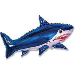 """Фольгированный шар. Фигура """"Акула"""""""