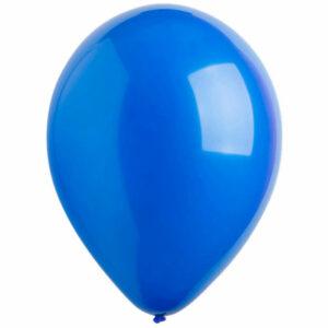 Латексный шар с гелием. Синий
