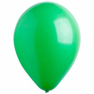 Латексный шар с гелием. Зеленый