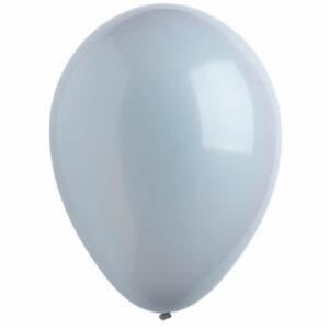 Латексный шар с гелием. Серый