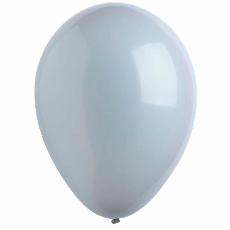 Воздушный шар серый