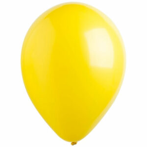 Латексный шар с гелием. Желтый