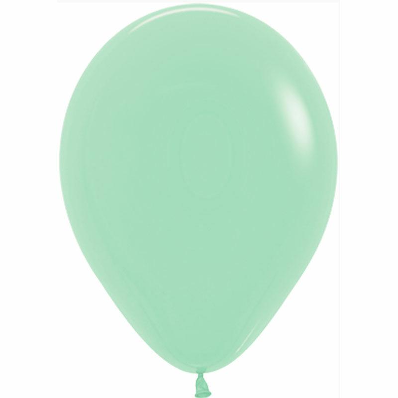 Воздушный шар зеленый пастель