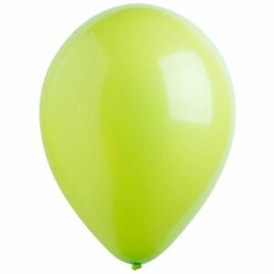 Латексный шар с гелием. Светло-зеленый