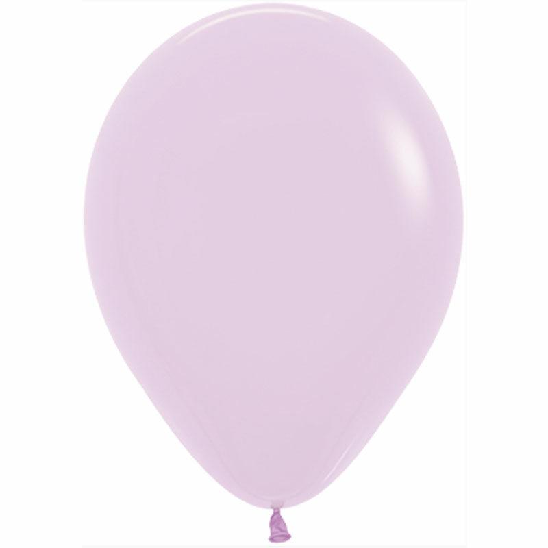 Воздушный шар сиреневый пастель