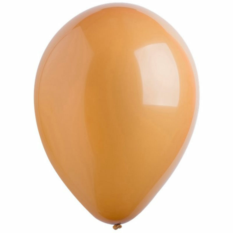 Воздушный шар коричневый