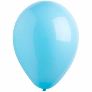 Латексный шар с гелием. Голубой