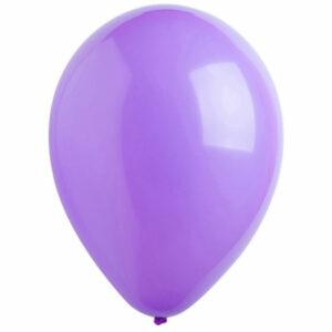 Латексный шар с гелием. Пурпурный