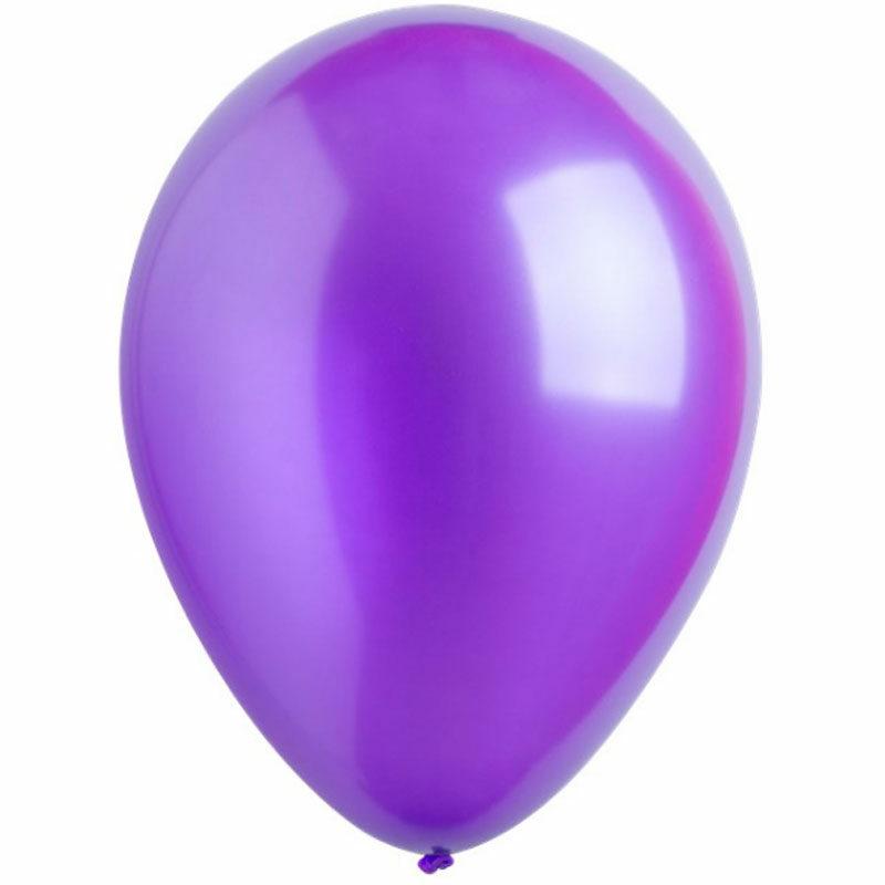 Воздушный шар пурпурный металлик