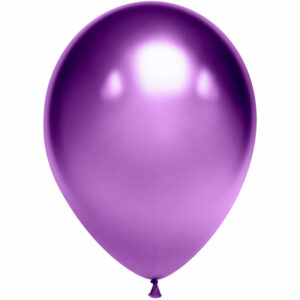 Латексный шар с гелием. Пурпурный хром