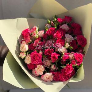 Букет из кустовых роз № 1