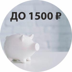 До 1500 ₽