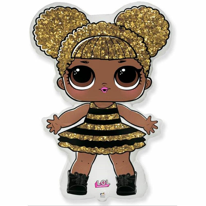 Воздушный шар кукла ЛОЛ Queen Bee
