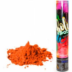 """Пневмохлопушка """"Краска Холи"""", Оранжевый"""
